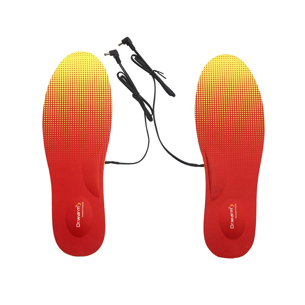 Rechargeable Heated Insole Warming in Winter Electric Heating Pad for Men and Women Winter Outdoor Sports Equipment and Tools by Dr.warm by Dr.warm