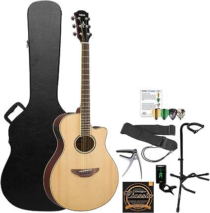 Yamaha fg700s Kit de guitarra acústica – incluye: Lección ...