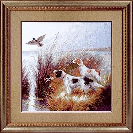 Cross stitch chart-KIT Springer Spaniel dog 4