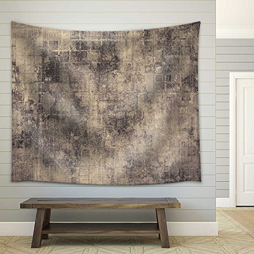 Old Texture as Abstract Grunge Fabric Wall Tapestry