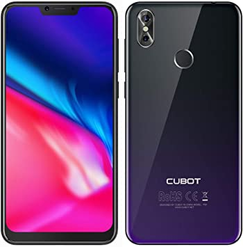CUBOT P20 2018 4G Smartphone 6.18 Pulgadas Android 8.0 MTK6750T ...