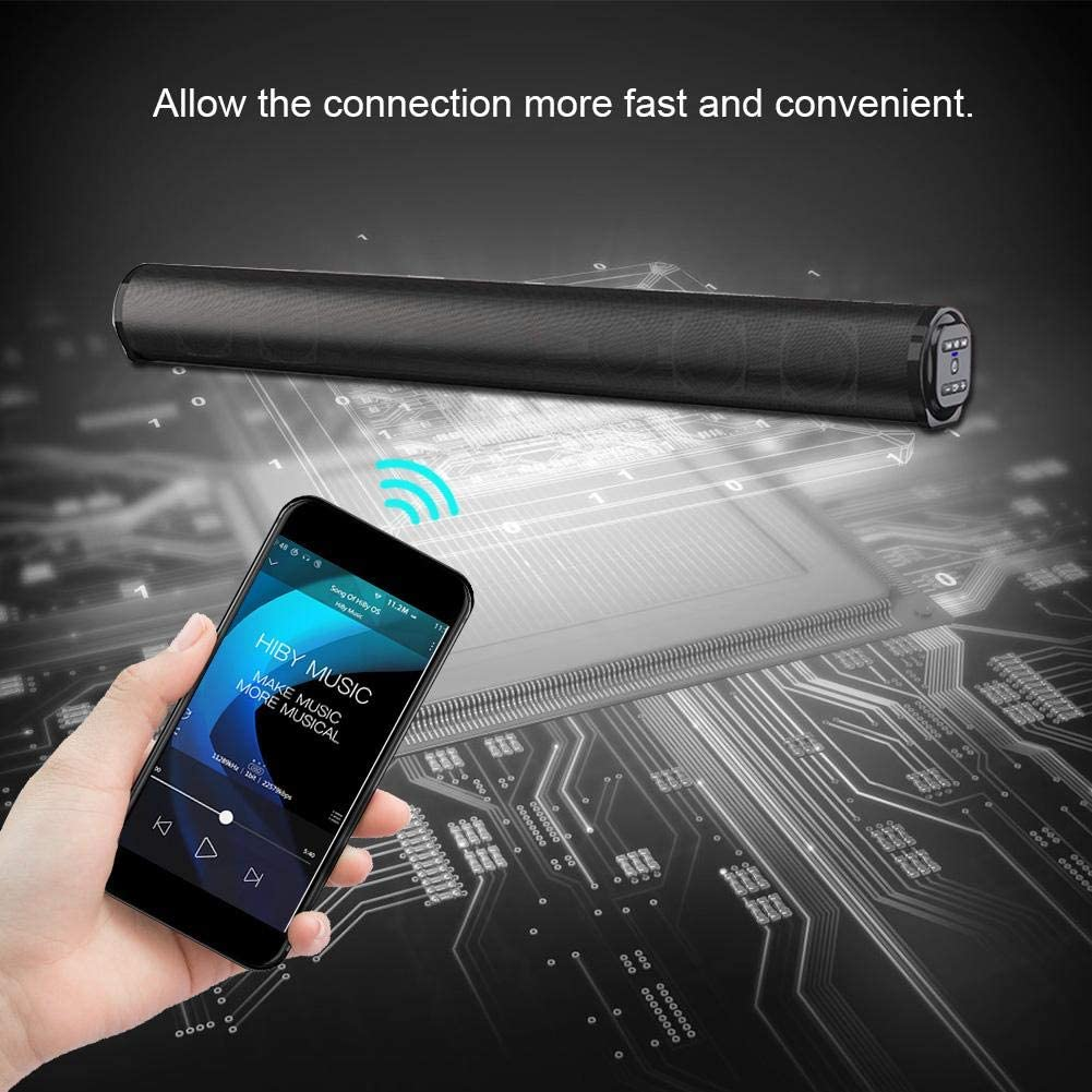 APE TV port/átil Barra de sonido Reproductor est/éreo de cine en casa 3D WMA Distancia de transmisi/ón de 10 m la oficina FLAC Para el hogar WAV Soporte MP3 Altavoz inal/ámbrico Bluetooth