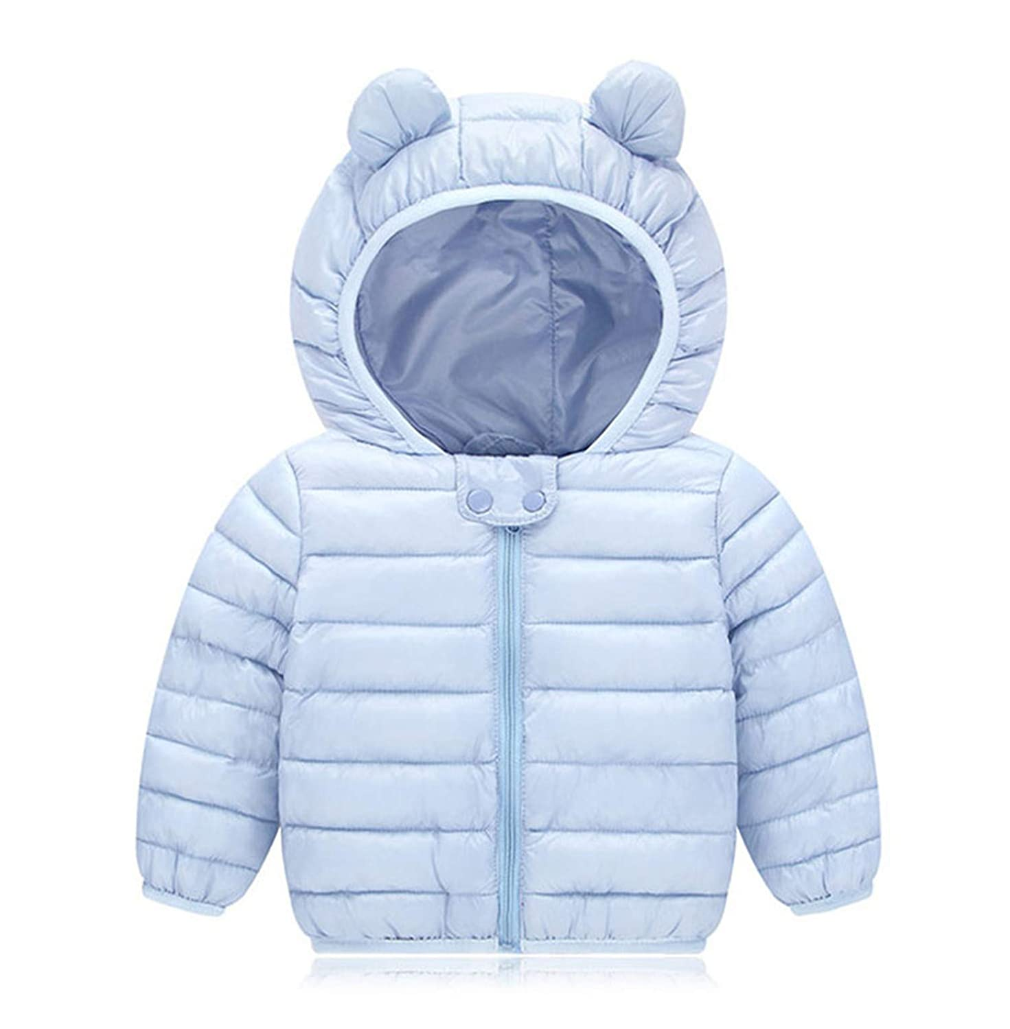 Susie Zechariah Baby Girls Jacket Autumn Clothes Winter Coat for Girls Kids Warm Hooded Outerwear