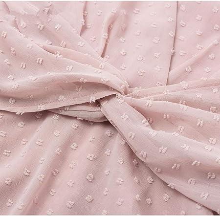 Blusa Sexy con Cuello en v para Mujer Camisa Elegante asimétrica con Manga de Soplo Floral Camisa asimétrica Rosa Damas ElegantesTops de Vacaciones
