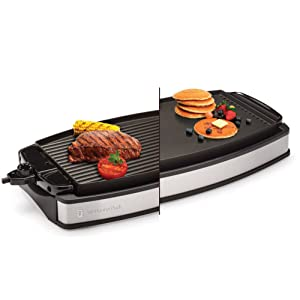 Wolfgang Puck Reversible Electric Griddle and Grill
