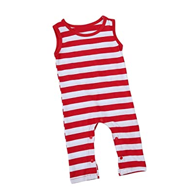 Baby Boys Girls Clothes,Efaster Toddler Striped Romper Jumpsuit Sunsuits Outfits