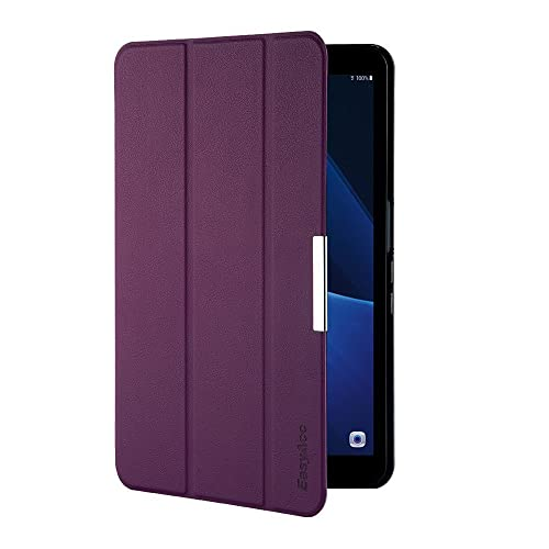 EasyAcc Samsung Galaxy Tab A 10.1 Case, Ultra Slim Lightweight with Stand/Auto Sleep Wake-up Function Cover Smart Case for Samsung Galaxy Tab A 10.1 SM-T580N/SM-T585N (Folded Cover Design, Purple)