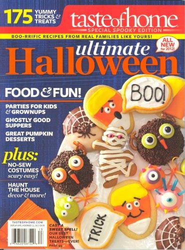 Ultimate Halloween (Taste of Home 2012,175 Yummy Tricks & Treats)]()