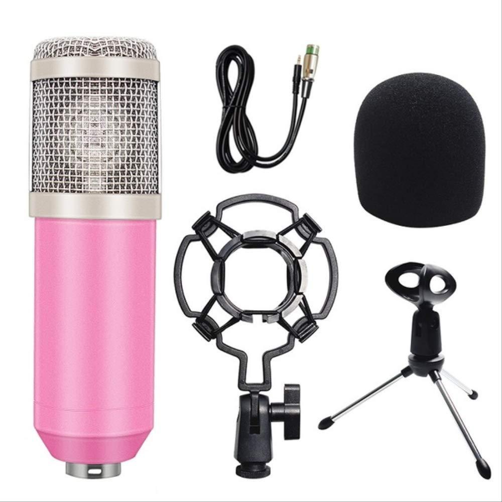 RRYM Micrófonos Micrófono Condensador Grabación De Sonido ...