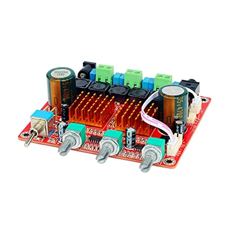 AOSHIKE Home Audio Amplifiers Board Class D 2.1 Digital Power Amp 100W+50Wx2 Fever HIFI