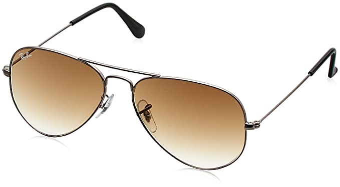 0a2baa361ec Image Unavailable. Image not available for. Colour  Ray-Ban Gradient  Aviator Sunglasses (0RB3025I004 5155)