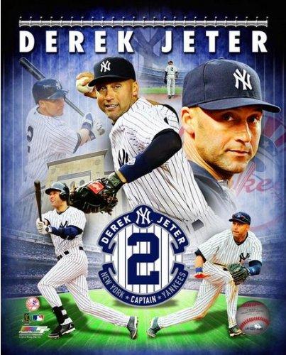 Derek Jeter New York Yankees 2014 Final MLB Season Photo (Size: 8
