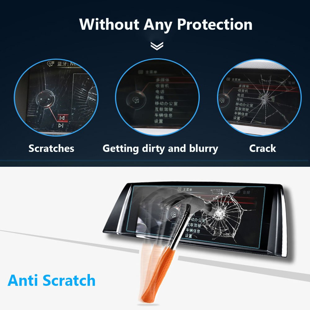 Screen Protector Compatible with 2019 2020 BMW G02 X3 X4 10.25 Inch Touch Screen,ZFM,Anti Glare Scratch,Shock-Resistant Navigation Accessories