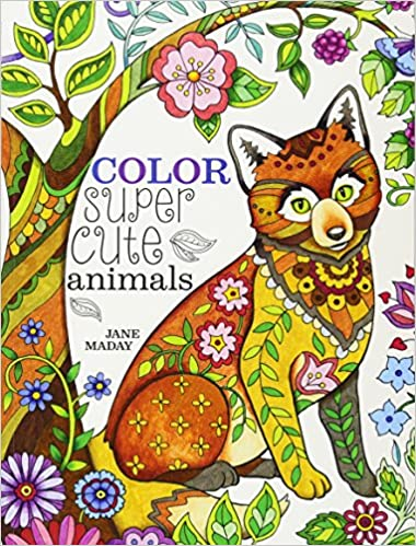 Amazon Color Super Cute Animals 0035313666476 Jane Maday Books