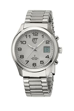 62m 11335 Egs Uhr Mit Edelstahl Solar Ett Chronograph Time Herren Eco Funk Armband Tech Ok08nPwX