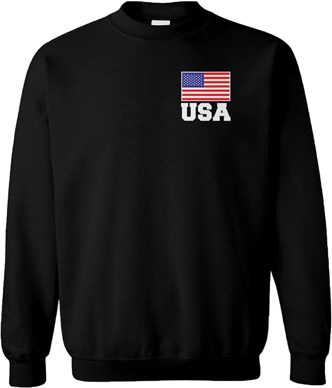 Amazon Com Haase Unlimited Usa Biden 46 Jersey Future President America Unisex Crewneck Sweatshirt Clothing