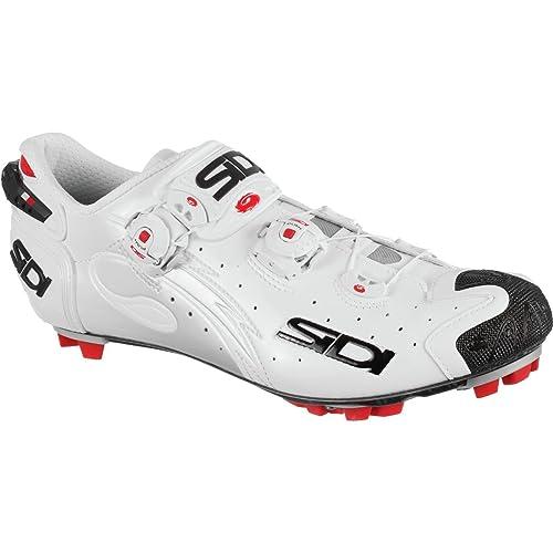 Zapatillas MTB Sidi Drako Carbon SRS Blanco-Negro: Amazon.es: Zapatos y complementos