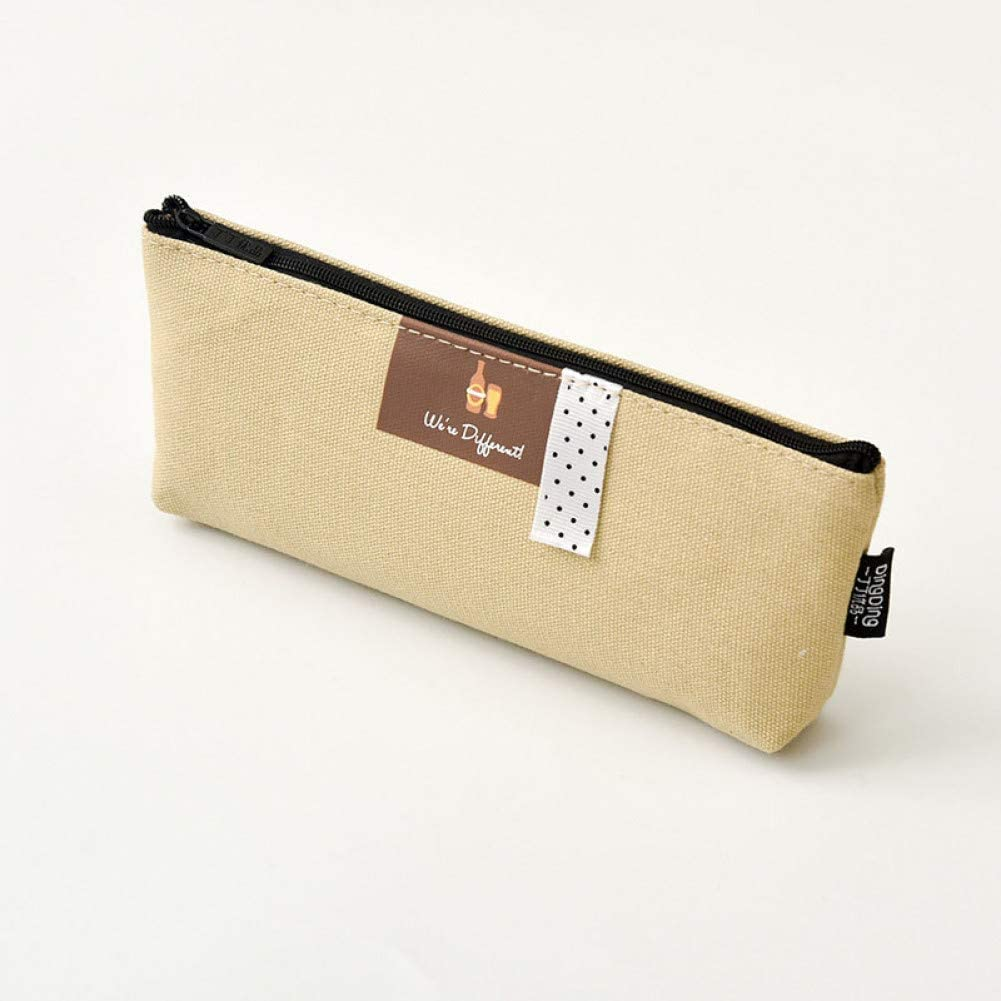 UHSKK Estuche Supplies Storage Cute Plush Portalapices Pusheen Big Zipper Pencil-Case Pencil Cas Storage Pouch Epen Box Bag For School Kids: Amazon.es: Oficina y papelería