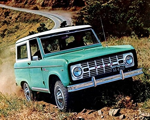 1967 Ford Bronco SUV Truck Photo Poster