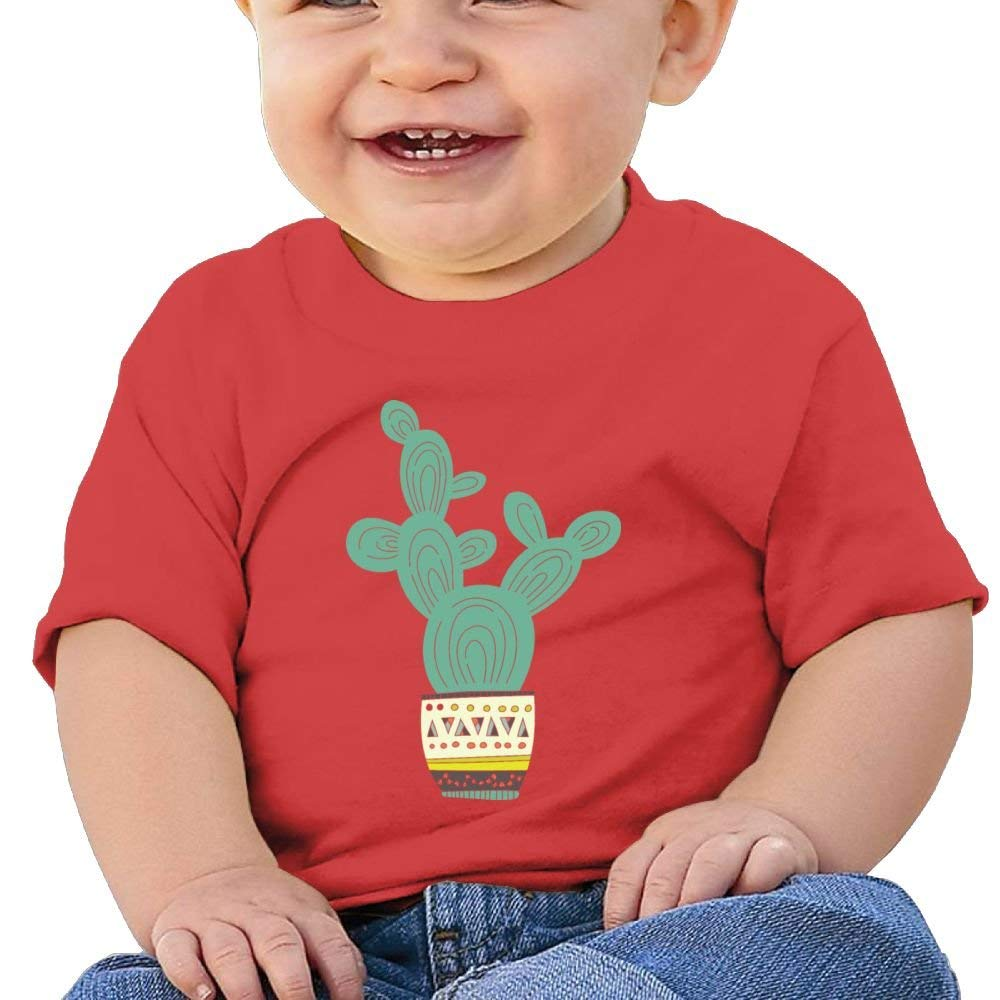 Moniery Cute Tee Vintage Retro Cactus Birthday Day Baby Boys Infant
