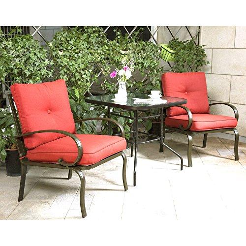 wrought iron patio dining set - 8
