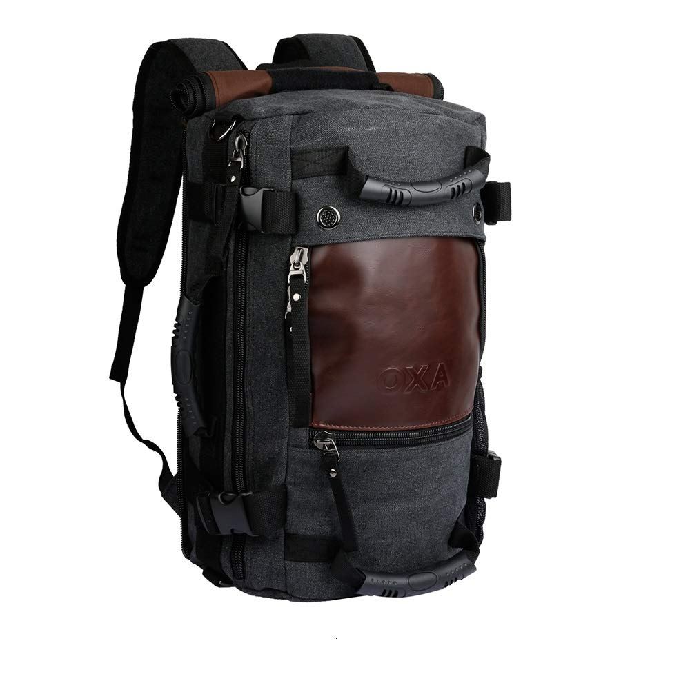 f33e153a6 Amazon.com   OXA Duffel Bag Travel Canvas Backpack for Men, 10