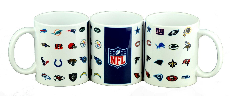 NFL 2018 SPECIAL Edition ALL LOGOS 11OZ MUG The Memory Company LLC