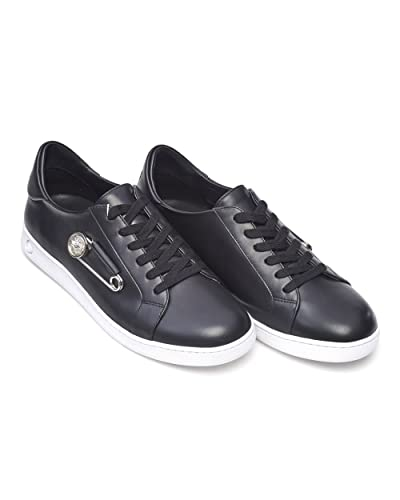 Versus Versace Mens Safety Pin Trainers, Black Low Top Lace