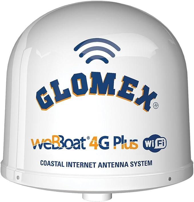 Glomex it1004plus/nosotros weBBoat 4 G Plus costeras Dual SIM Internet Antena