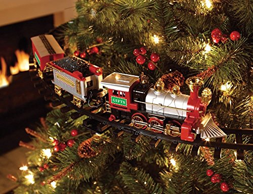 Christmas Tree Train - Animated Engine, with music and lights for your Christmas tree decoration by HDIUK (Image #2)