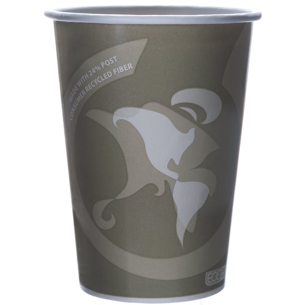 Eco-Products - Evolution World 24% Recycled Content Food Containers - 32oz. Soup Cup - EP-BRSC32-EW (Case 500)