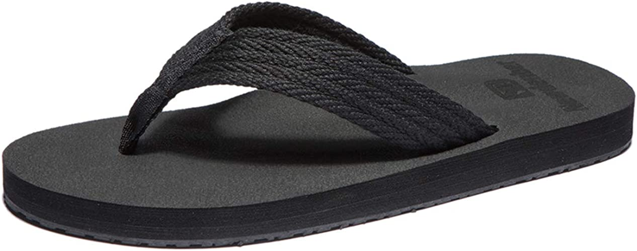 Tongs Homme Sandales de Sports Flip Flop Chaussures de Plage et Piscine Antid/érapant