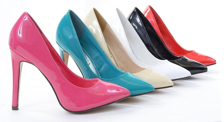 Patent Pointy Toe Basic Pump Heels M7675