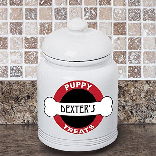 Personalized Dog Treat Jar - 9