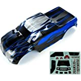 Redcat Volcano EPX Pro 4x4 Brushless BLUE Lexan Truck Body Shell Cover Painted