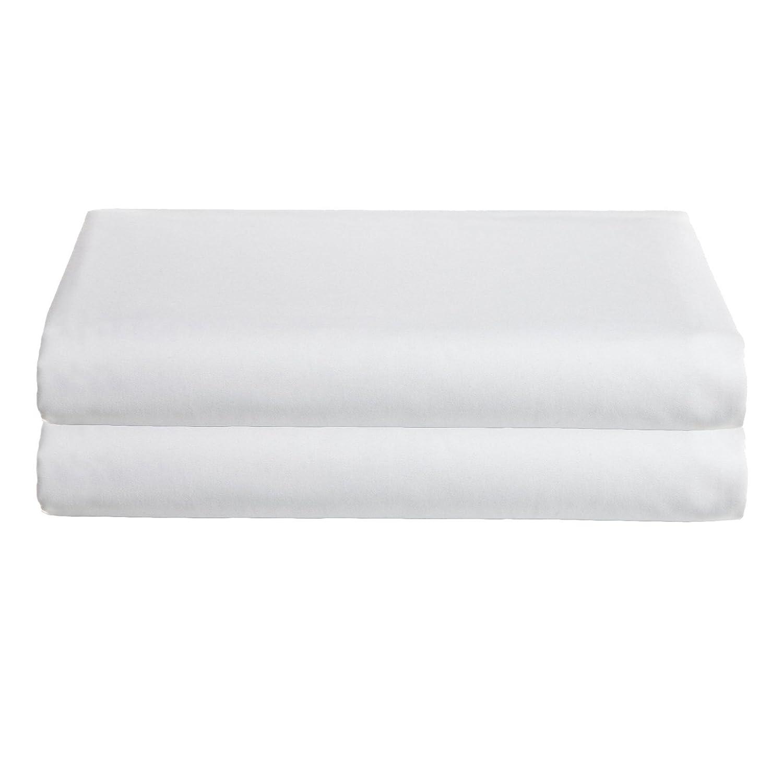 Babydoll Bedding Crib /& Toddler Poly//Cotton Set of 2 Sheets White