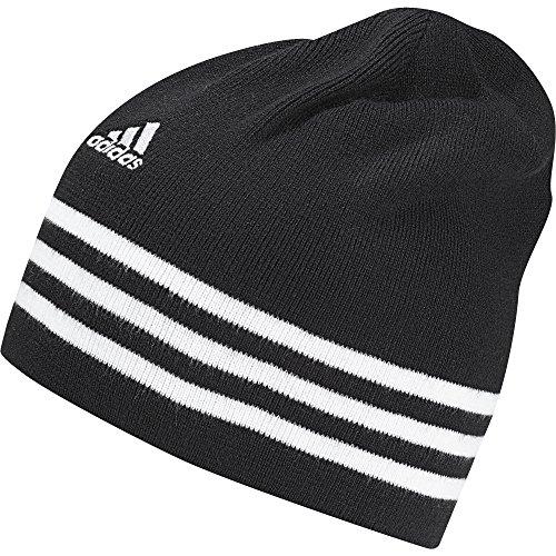 adidas Herren Performance 3-Stripes Mütze, Black/White, OSFL