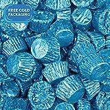 Reese's Peanut Butter Cups with Blue Foil Blue 1lb bag