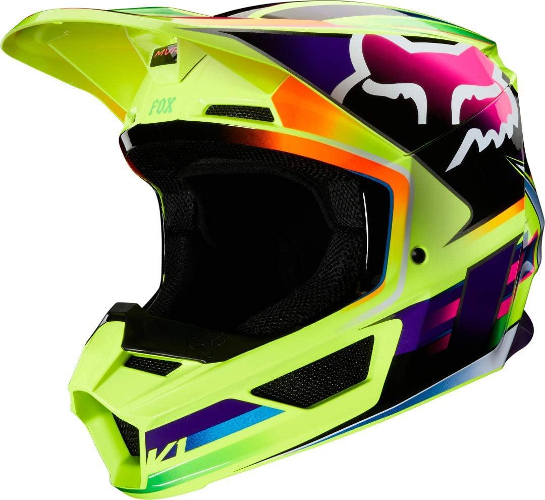 L Yellow Fox V1 Gama Helmets Hommes