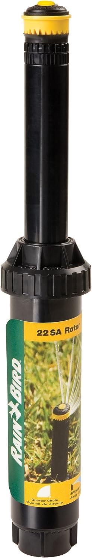 "Rain Bird 22SAQ Mini Rotary Pop-Up Spray, 90° Quarter Circle Pattern, 17' - 24' Spray Distance, 4"" Pop-up Height"
