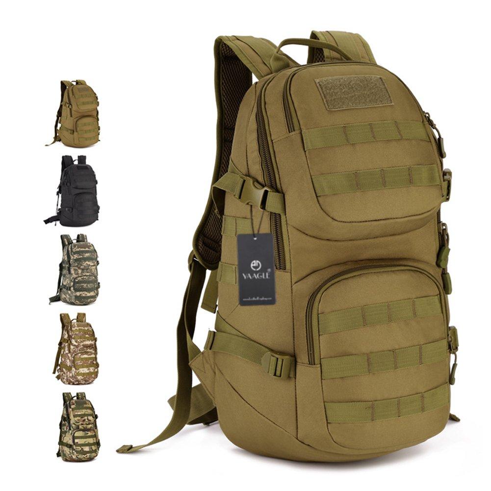 YAAGLE 35 L Rucksack outdoor Sporttasche Gepäck Bergsteigen Reisetasche Schultertasche Herren militärisch Sporttasche