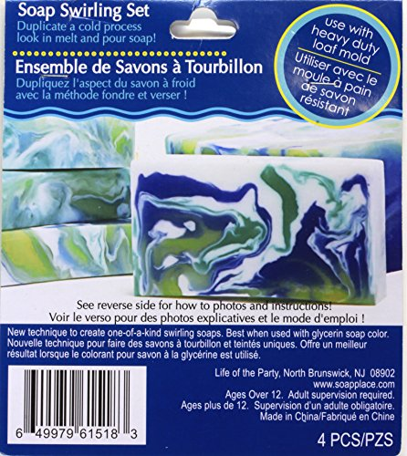 Life of the Party Soap Swirling Set Add On For Melt N Pour