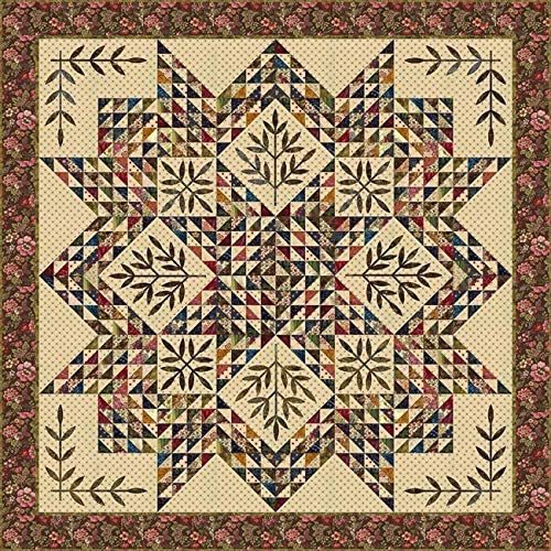 Triangle Star Laundry Basket Quilts Traditional Quilt Pattern