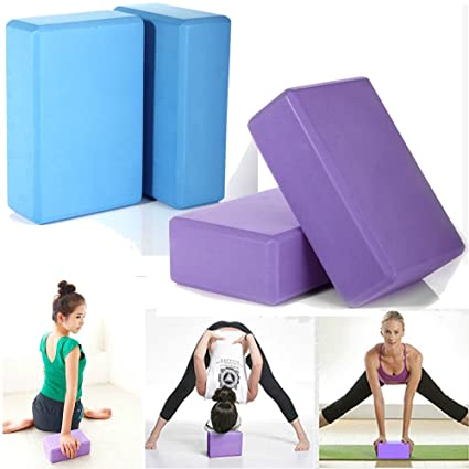 Amazon.com: 2pcs Pilates Yoga Bloquear Espuma Espuma ...