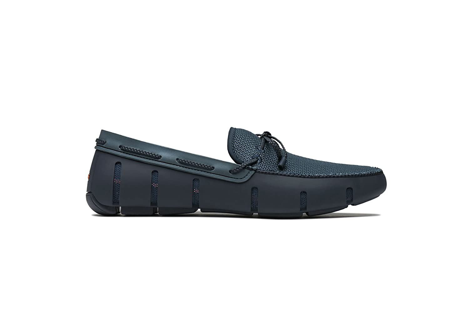 Navy Storm Swims Men's Braided Lace Loafers
