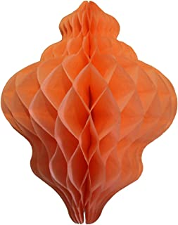 product image for 3-Pack 11 Inch Paper Lantern Decoration, Pastel Peach