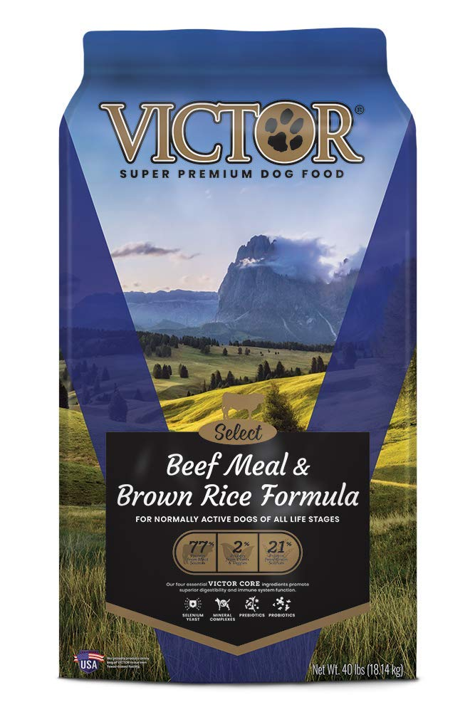 Victor Select – Beef Meal Brown Rice Formula, Dry Dog Food