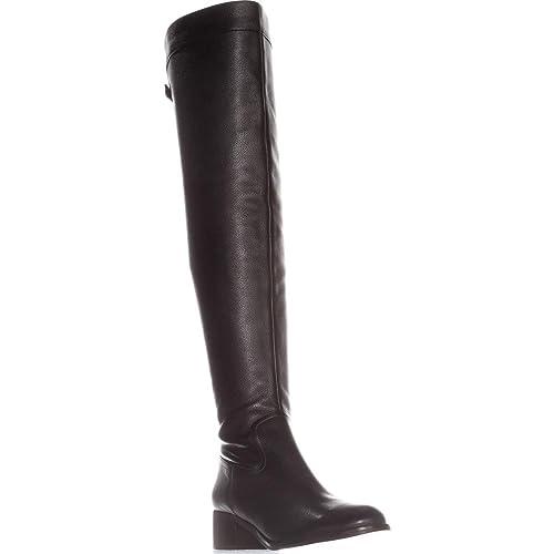 6b17c8ec696 Michael Michael Kors Women s Finn Over-The-Knee Boots  Amazon.co.uk ...