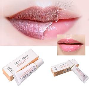 ROPALIA Propolis Lip Exfoliator Gel Remove Dead Skin Repair Lip Plumper Scrub