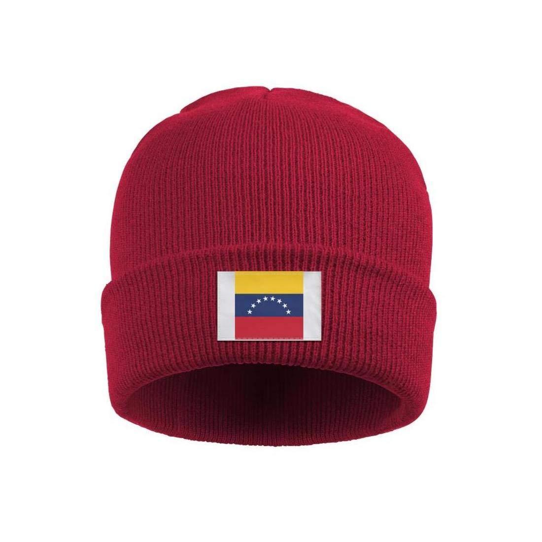 Winter Beanie Hat Trinidad and Tobago Flag Knit Skull Cap for Men Women